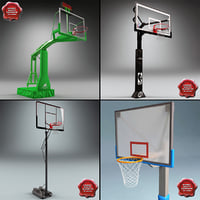 basketball rims 3d max