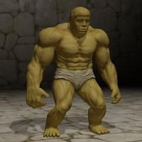 free max model golem fantasy mmorpg