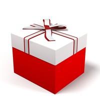 3dsmax gift box christmas