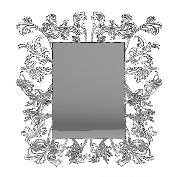 Glas Italia Piero Lissomi Sturm Und Drag Mirror murano glass crystal cared baroque classic glamour big.jpg