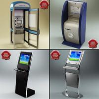 3d model internet kiosks