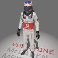 3d model formula jenson button