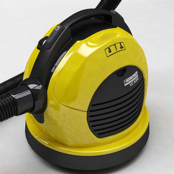 3d model karcher vacuum cleaner. Black Bedroom Furniture Sets. Home Design Ideas