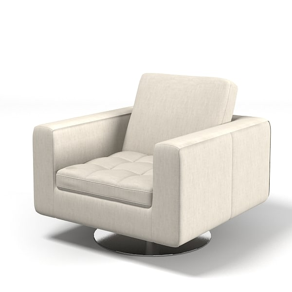 Natuzzi Savoyr tufted chair armchair swivel club modern contemporary.jpg