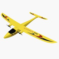 3d model toy airplane