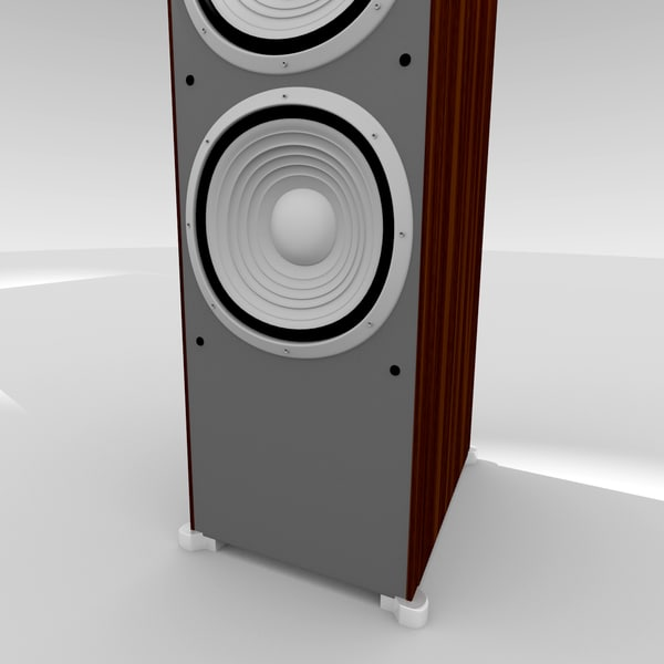obj jbl es100 speakers - JBL ES100 Floor Speakers... by scanlia