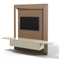 Smania Lbantepr02  tv stand  cinema media entertainment  hi-fi center  modern contemporary cabinet  art deco glamour