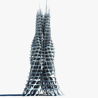 3ds max architectural structure