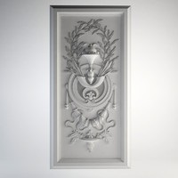 3d model bas relief