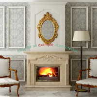 fireplace 34 3d model