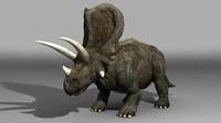 herbivorous torosaurus obj