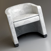 armani andromeda chair 3d 3ds