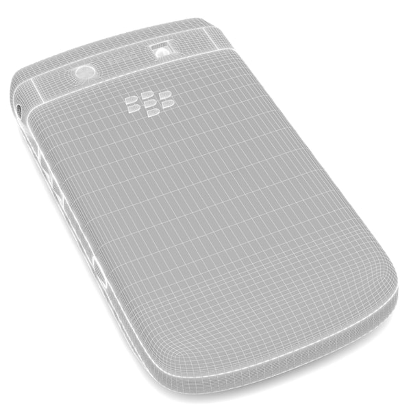 blackberry torch 9810 smartphone 3d model - BlackBerry Torch 9810 Smartphone... by ThePeriphery