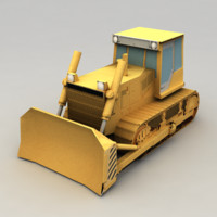 3ds bulldozer