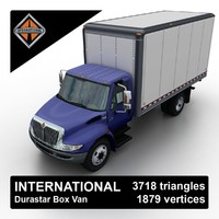 International Durastar Box Van
