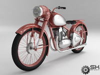 motorcycle java 3d model