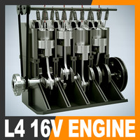 L4 16V Engine Section