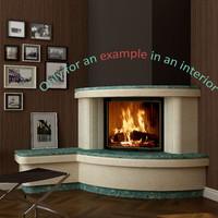 x fireplace 48