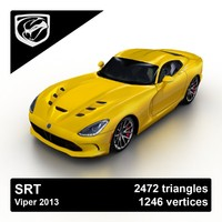 3d 3ds 2013 srt viper sport coupe