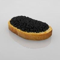 3d black caviar