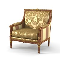 Armando Rho A 425 Armchair Luxury classic Empire Style arm chair
