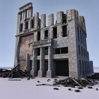 WW2 Ruin 007
