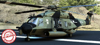 NH 90 Eurocopter full Rigged