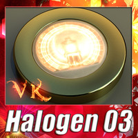 Halogen Lamp 03