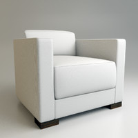 armani tokyo chair 3d obj