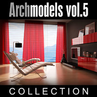 archmodels vol 5 armchairs 3d model