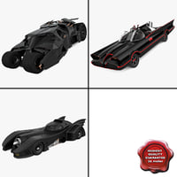 3d model batman cars