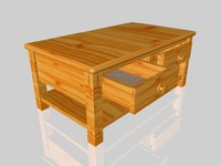 chunky coffee table c4d