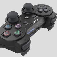 sony 3 ps3 3d model