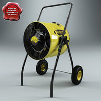 electric portable heat blower max