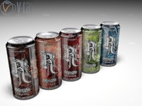 Relentless Energy Drink Can