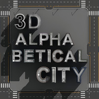 3ds max alphabetical city buildings