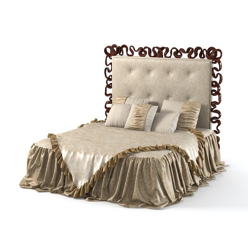 christopher guy  Sabrian Headboard 20-0508  Art deco decorative frame designer bed linen blanket luxury cover 0001.jpg