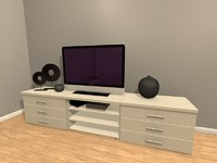 3d c4d tv set homecinema