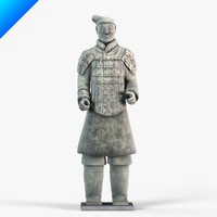 Terracotta Warriors-Armored Warrior