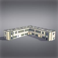 Modern Generic Building 014