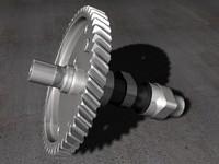 crankshaft 3d model