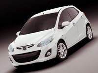 3d mazda 2011 model