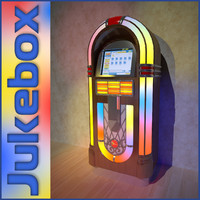 Jukebox with monitor