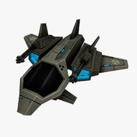 3d ship games model