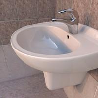 washbasin tap c4d