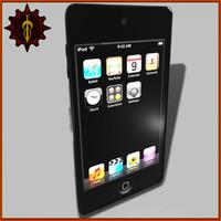 3d model realistic ipod