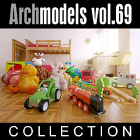 3d archmodels vol 69 model