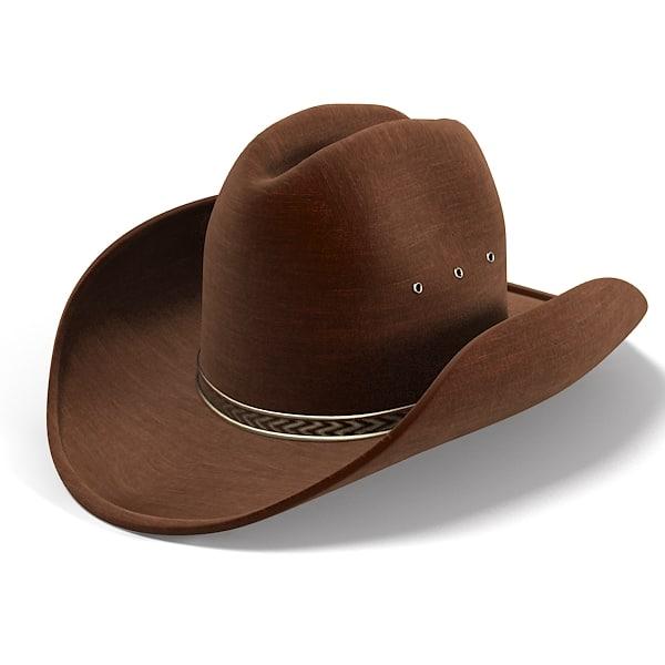 Cowboy Hat Images 3d Cowboy Hat Model