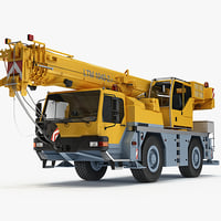 liebherr mobile crane ltm 3d max
