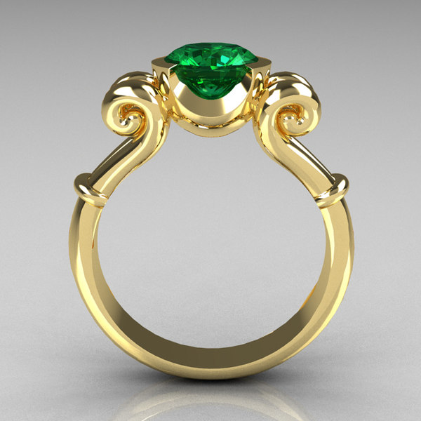 3d antique ring model - Ring-122.3dm... by AlphaLuxury